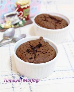 Çikolatalı Unsuz Sufle
