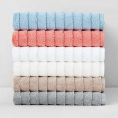 Kassatex Basel Bath Towel Home - Bloomingdale's Dream Bathrooms, Beautiful Bathrooms, Modern Bathrooms, Luxury Bathrooms, Small Bathrooms, Bath Towel Sets, Bath Towels, Soft Towels, Basel