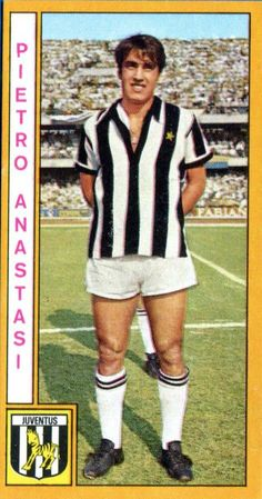 Pietro Anastasi of Juventus in 1969.