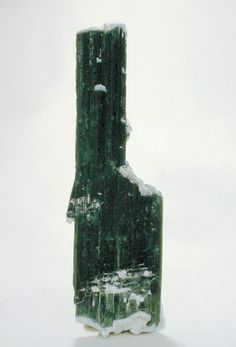 Actinolite. Sharp, floater acting lite crystal with a slight green tint. Namibian dessert, more or less due west of Uis, Namibia. Found in metamorphic rocks.