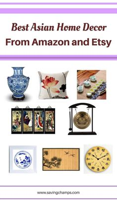 Best Asian Home Decor Items to Add an Elegant Touch to your Room