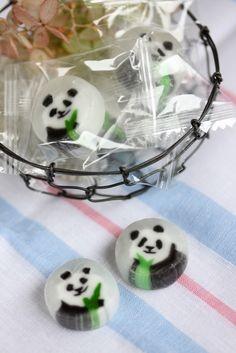 Panda Candy (Ueno Tokyo, Japan)|パンダ飴