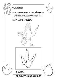 Proyecto completo dinosaurios. programación, fichas, recursos,pdf Dinosaur Theme Preschool, Activities, Education, Kids, Teacher, Infant Learning Activities, Dinosaurs Preschool, Young Children, Boys