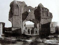 Antoin Sevruguin photograph, Blue Mosque, Tabriz, Iran, c.1890-1900