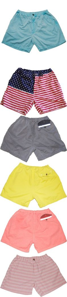 Which pair of chubbies shorts? Female wearing them.. America's calling Fourth of July cookout!