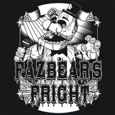 FazBear's Fright FNAF 3 T-Shirt Five Nights At Freddy's Textual Tees