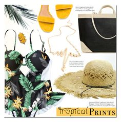 """""""Beach day"""" by mada-malureanu ❤ liked on Polyvore featuring Matiko"""