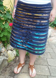 Brees Splice Skirt