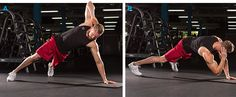 Don't have time to hit the gym? Don't fret! Check out these 12 challenging bodyweight movements that can be done anytime, anywhere!