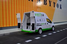 Voltia Maxi 8m3 doors - best electric van and able to battle diesel TCO