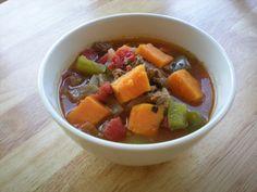 Paleo chilli with sweet potatoes