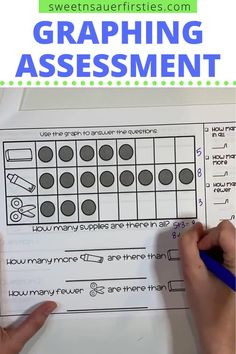 Are you looking for an in depth way to assess students on their graphing skills? This 11 question assessment can be used as a pre or post test for your graphing unit! Included you'll find questions to assess for understanding of organizing, sorting, representing, and answering questions about data. There are also in depth teacher directions included and answer keys for easy grading! This graphing assessment for first grade is great for progressing monitoring and report cards as well.