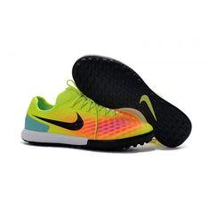 Buy Nike MagistaX Finale II TF Soccer Cleats Green Orange Black Nike  Soccer 1165ce54de7e8