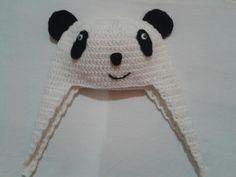 Gorrito oso panda