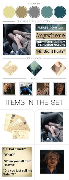 """""""It's better to feel pain, than nothing at all // The opposite of love's indifference // So pay attention now // I'm standing on your porch screaming out // And I won't leave until you come downstairs"""" by titanium-druzy ❤ liked on Polyvore featuring art"""