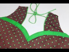 Blouse Back Neck - Easy Making in Hindi/Urdu - YouTube