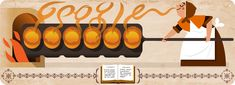 Google honors Hannah Glasse, first popular cookbook writer, with a Google doodle http://qoo.ly/nbefc