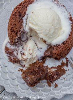 Nutella Lava Cake ww