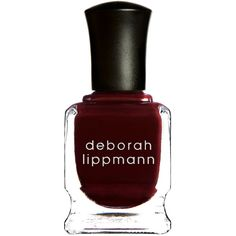 Deborah Lippmann Nail Polish - Single Ladies ($18) ❤ liked on Polyvore featuring beauty products, nail care, nail polish, nails, makeup, beauty, fillers, colorless, deborah lippmann nail color and deborah lippmann nail lacquer
