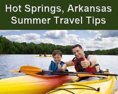 Summer is here and as I am starting to think about my next trip to Hot Springs, Arkansas I reflect on what I will do in the hot water city.  Check out my insider tips and share your own! http://www.hotspringstips.com/