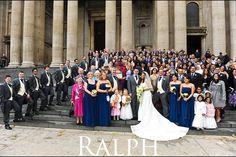 St Paul's wedding