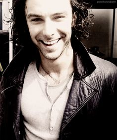 Aidan Turner-  I just noticed 2 things! 1. He is from Being Human the UK version! 2. HE IS PLAYING LUKE GARROWAY IN MORTAL INSTRUMENTS! YAY! He is exactly how I pictured Luke to look like!