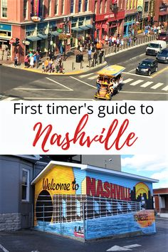 Are you planning to spend a weekend in Nashville? Here are some of the top things to do in Nashville on your first visit. #Nashville #USA Nashville Usa, Weekend In Nashville, Visit Nashville, Usa Travel Guide, Travel Advice, Travel Usa, Travel Guides, Stuff To Do, Things To Do