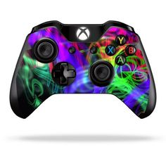 Protective Vinyl Skin Decal Cover for Microsoft Xbox One Controller Sticker Skins Neon Splatter, http://www.amazon.com/dp/B00GUSRXRO/ref=cm_sw_r_pi_awdm_9hhgtb1RB5YXY