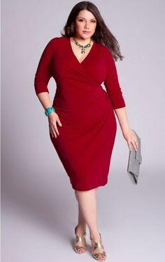 cutethickgirls.com plus size red dresses (07) #plussizedresses