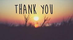 "How many time, you have said these two words ""THANK YOU"". Say Now. Say thank you to those, who loved you and trusted you.  And that's it.   #thankyou"