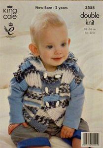 29fe51488 Girls knitted waistcoat - King Cole