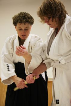 Aikido can be performed by women of all ages, body types, and levels of fitness.