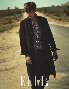 Lee Min Ho - Elle Korea September 2015