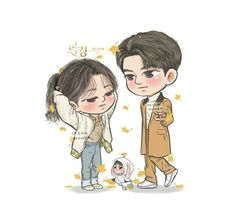 Cute Couple Art, Cute Couples, Korean Drama Romance, Fanart, Drama Korea, Actors, Lee Min Ho, Handsome Boys, Cute Wallpapers
