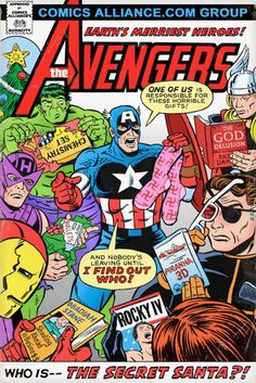 The Avengers need to figure out who gave them all these crappy presents! lol Nick Fury's is my favourite.