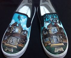 47c5839a95 Pierce the Veil Collide with the Sky Custom Shoes by simskicks