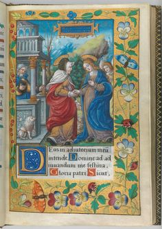 Hours of Francis I. Maker: Master of François de Rohan (French, Paris, active ca. 1525–1546) Date: 1539–40 Culture: French, Paris or Tours Medium: Illuminated manuscript on parchment, bound in leather with gilt