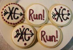 Cross country cookies - www.flourandwhisk.com