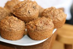 Carrot Chia Spelt Muffins from @ohsheglows  Made these today & they are so good!