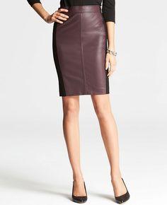 Riverside Colorblocked Pencil Skirt