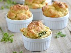 Minis Muffins aux poireaux