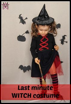 Get Your Crap Together: Last Minute Witch Costume from House of Estrela