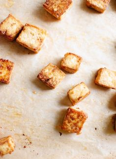 Extra crispy baked tofu - cookieandkate.com