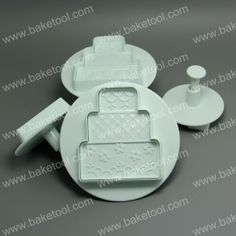 Free shipping New 4pcs Three tiered Cake Shape Plunger Cutter-in Cake Molds from Home & Garden on Aliexpress.com