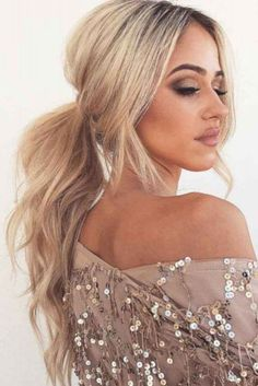 52 Ponytail Hairstyle Inspiration to Try #Women # #hairstyleinspirationtotry #ponytail
