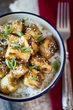 An easy recipe for Sticky Chinese Lemon Chicken (30-Minute Mondays!)
