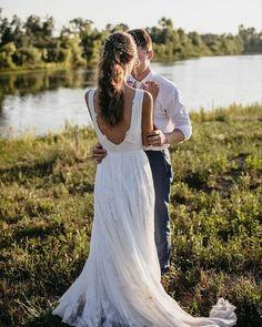27 Bohemian Wedding Dress Ideas You Are Looking For ❤ bohemian wedding dress a line low back rustic wearyourlovexo #weddingforward #wedding #bride