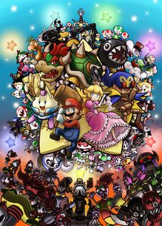 Super Mario RPG: Legend of the Seven Stars ~ Ultra Nintenverse Mario And Luigi, Mario Bros, Peach Nintendo, Super Mario Rpg, Attractive Wallpapers, Space Coloring Pages, Princesa Peach, Super Mario Brothers, Cartoon Crossovers