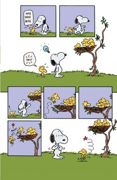 Snoopy in Woodstock's New Nest 03 - unreleased story