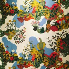 """Alice Melvin (@alicemelvin) on Instagram: """"Oh my! Am in total pattern heaven at the @fashiontextilemuseum discovering the work of Josef Frank.…"""""""
